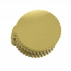 Gold Yuvarlak Mendil 22 Cm 50 Adet