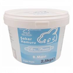 Dr Paste Bebek Mavi Şeker Hamuru 2.5 kg