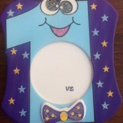 1 Yaş Bebek Magnet Mavi