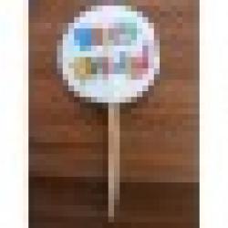Cupcake Kürdan Happy Birthday
