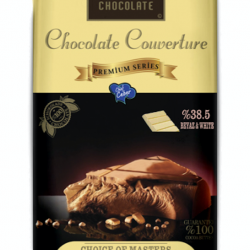 BARLO CHOCOLATE BEYAZ KUVERTUR 2.5 KG %38.5