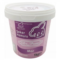 Dr Paste Mor Şeker Hamuru 1kg