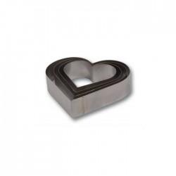 Kalp Çember Set 4'lü Yükseklik:10 cm