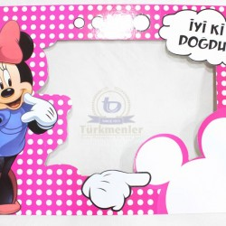 Miki Mouse İki Taraf Çerçeve