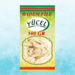 YCL YÜCEL BADEM FİLE 500 GR